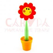 Ручка Цветок на подставке смайл болш. №3