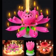 Свеча Музыкальный цветок Music Candle