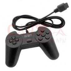Джойстик Sega Controller Рогатый Black узкий разъём 9 пин