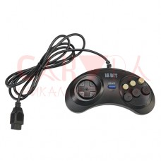 Джойстик Sega Controller Turbo Black узкий разъём 9 пин