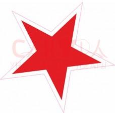 Звезда 71 мм х 69 мм
