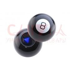 Магический шар ответов чёрный 7см Magic Ball 8 на Русском языке