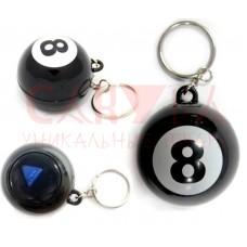 Магический шар Брелок Magic ball 8 предсказатель на русском языке 4,5 см