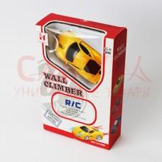 Антигравитационная машинка Wall Climber жёлтая