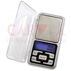 Весы ювелирные карманные электронные MH-500, предел 500 г., шаг 0,1 г