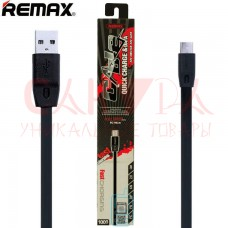 Кабель USB REMAX Full Speed Series 1M Cable RC-001m Micro USB (черный)
