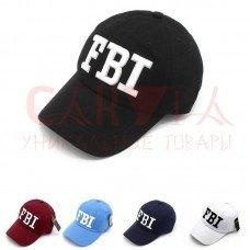 Бейсболка надпись FBI TM