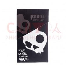 """Гарнитура """"Skullcandy"""" XGO-33 (черная)"""