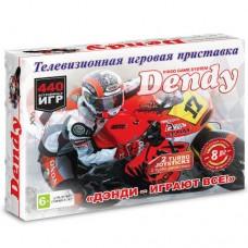 Игровая приставка Dendy 440 игр + пистолет