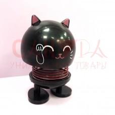 Игрушка антистресс Smile Cat на пружинке
