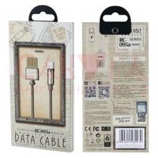 Кабель USB REMAX Gravity Series Cable RC-095a Type-C (черный) магнитный USB - кабель