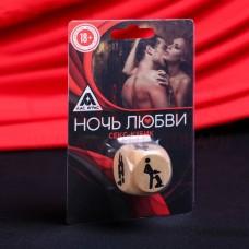 Кубик деревянный «Ночь любви. Позы»