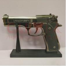 Зажигалка Пистолет beretta 9mm, газ