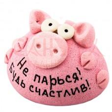 "Фигурка ""Не парься! Будь счастлив!"" Свинка"