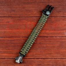 Браслет для выживания Paracord Bracelet  24*2 см