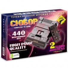 Игровая приставка Dendy СЮБОР 440 игр+пистолет