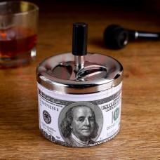 "Пепельница бездымная ""100 долларов"", 7х11.5 см"