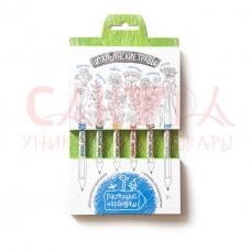Набор «Растущий карандаш «Итальянские травы» цветные, 6 шт