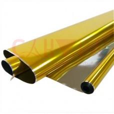 Пленка голографическая ПП 40мкм, 70см, 200г, золото