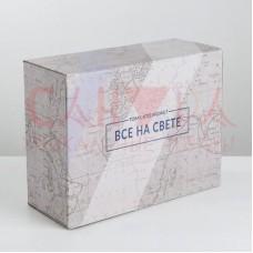 Коробка‒пенал «Тому, кто может всё на свете», 30 × 23 × 12 см