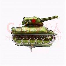 """Шар ФИГУРА Танк Т-34 12"""""""