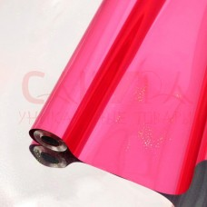 Пленка голографическая ПП 40мкм, 70см, 200г, розовая