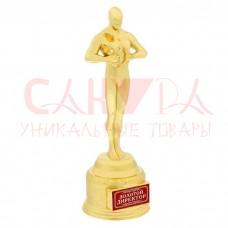 """Оскар """"Золотой директор"""" в коробке"""