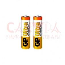 Батарея GP  15AU-2UE2, LR6 Ultra  Алкалиновые (2 шт в упаковке) AA